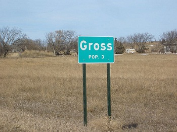 gross sign