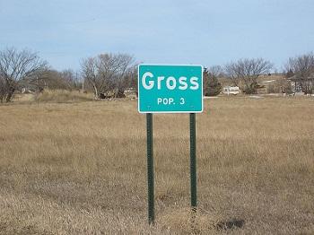 gross sign